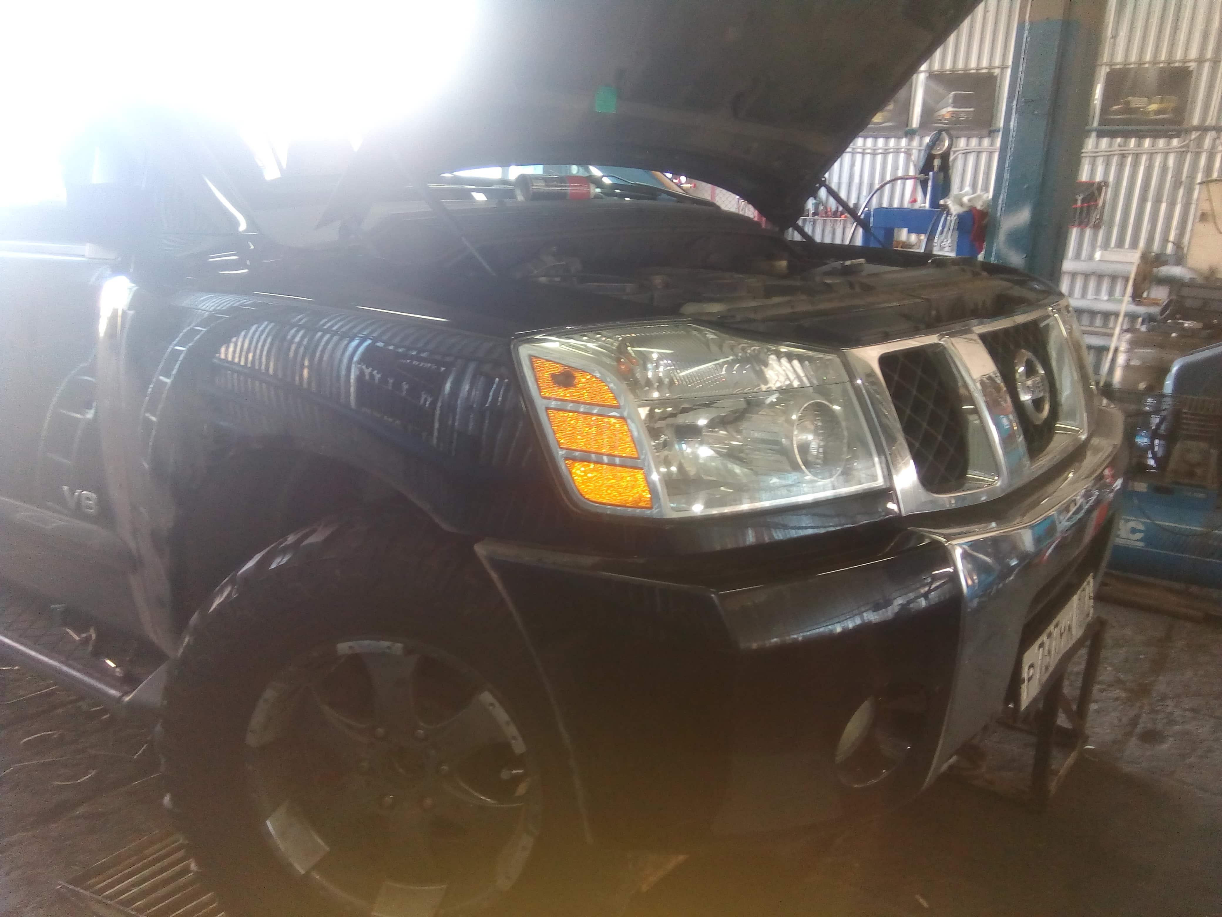 ремонт кондиционера автомобиля