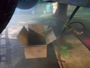 промывка корейского рефрижератора, климатавтосервис