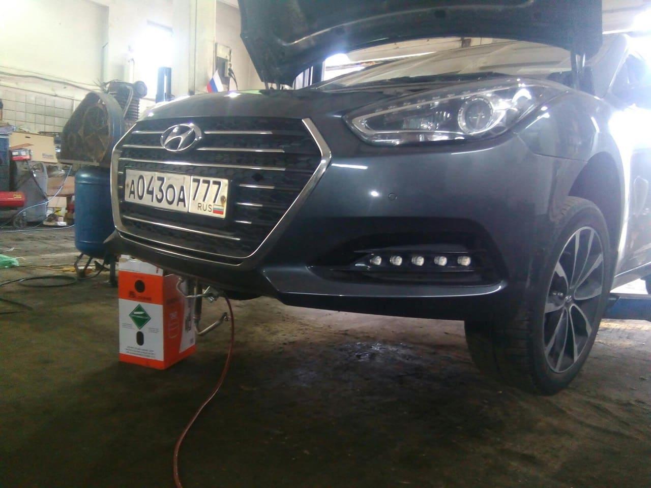 промывка кондиционера автомобиля