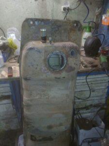 ремонт топливных баков в Москве