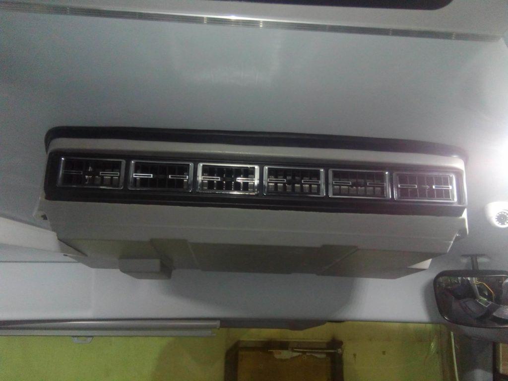 установка кондиционера на автобус